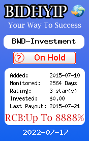 ссылка на мониторинг http://www.bidhyip.com/vote.php?lid=856